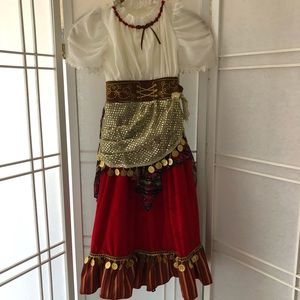 Other - Girls Esmeralda Gypsy dress costume